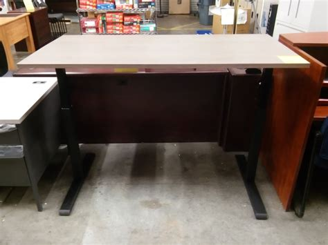 magellan height adjustable desk sit or stand height adjustable standing desk sold out a
