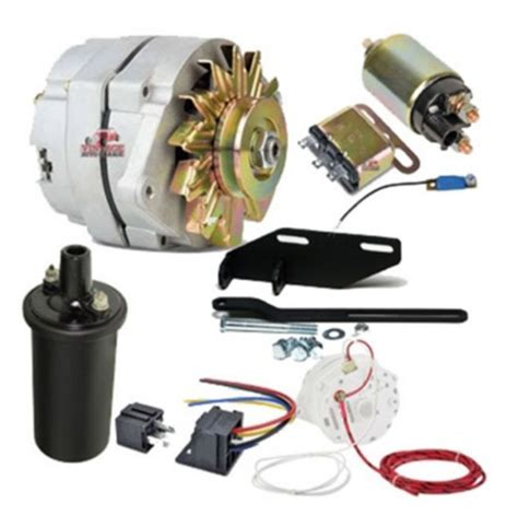 chevy parts 187 12 volt 100 conversion kit for solenoid starter w 3 8 quot pulley