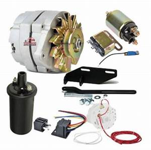 Chevy Parts  U00bb 12 Volt 100 Amp Conversion Kit For Solenoid