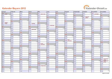 feiertage bayern kalender