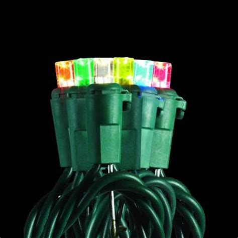 multi color changing led christmas lights home accents holiday 200 light led dome multi color to
