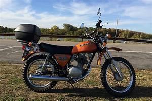 1974 Honda Xl100 With Nos Honda Cb125 Exhaust System