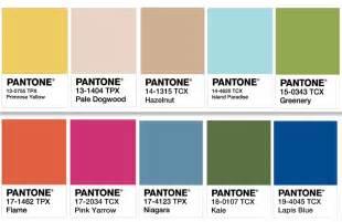 Spring Color Palette Pantone 2017