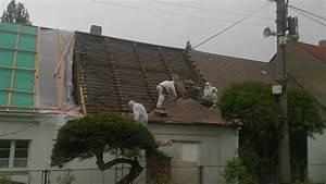 Likvidace eternitové střechy cena
