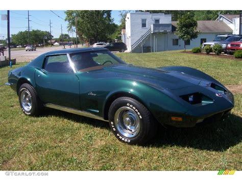 1973 Elkhart Green Chevrolet Corvette Coupe #66557409