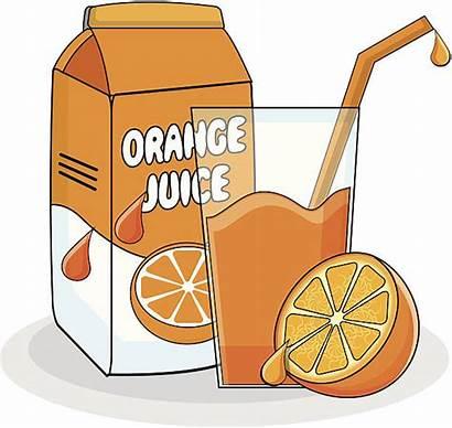Juice Orange Clipart Fruit Illustration Vector Clip
