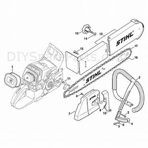Stihl Ms 460 Chainsaw  Ms460 Magnum  Parts Diagram  Conv