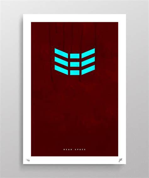 Geek Art Gallery Posters Video Game Minimalism