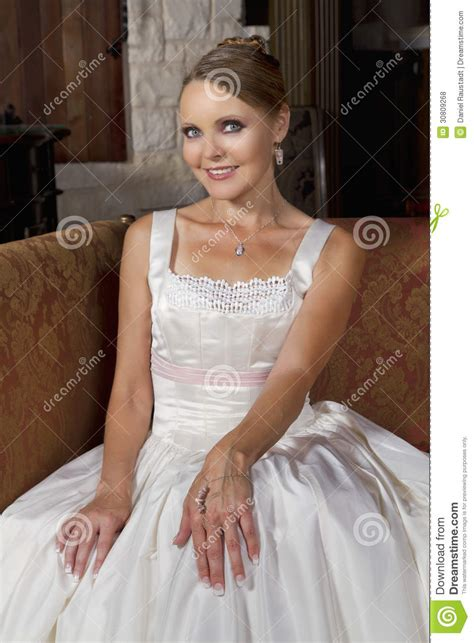 beautiful bride  wedding gown wearing  necklace royalty