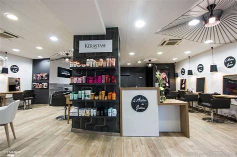 cuisine style atelier industriel salon de coiffure quot l 39 atelier de julien quot inovea deco côté maison