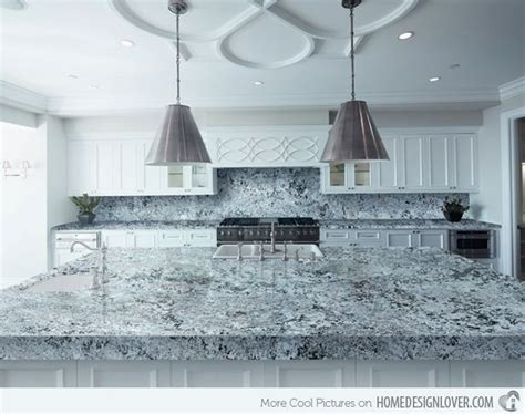 15 Different Granite Kitchen Countertops   Islands, The o