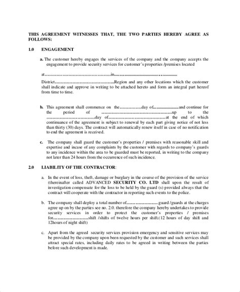 contract agreement templates  pages google