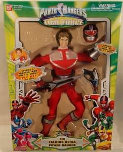 Red Power Rangers Time Force Toys