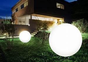 Haus Garten Außenbeleuchtung : kugelleuchte toula 80cm au enleuchten au enbeleuchtung ~ Lizthompson.info Haus und Dekorationen