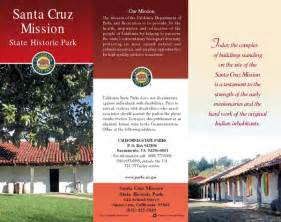 map of the santa cruz mission state historic park