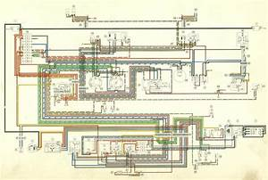 1971 Porsche 911 Wiring Diagram  2