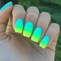 Neon nail polish bright nails summer designs art