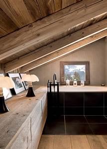 Salle De Bain En Bois : salle de bain en bois marie claire maison ~ Teatrodelosmanantiales.com Idées de Décoration