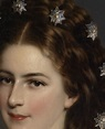 marie-duplessis: Empress Elizabeth of Austria (detail) by ...