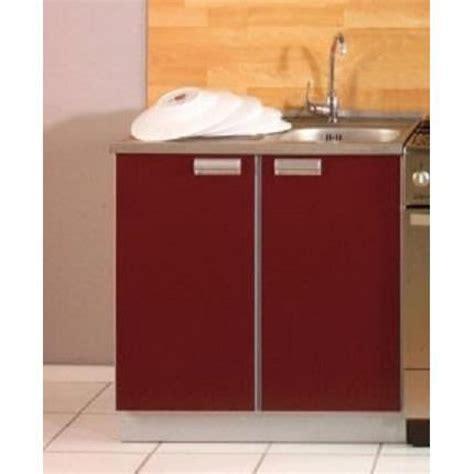 evier cuisine inox pas cher cuisine opale bordeaux 1m40 3 meubles évier inox