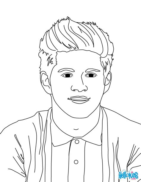 niall horan coloring pages hellokidscom