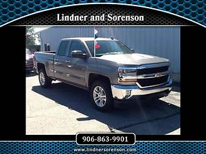 Used 2017 Chevrolet Silverado 1500 Lt Double Cab 4wd For