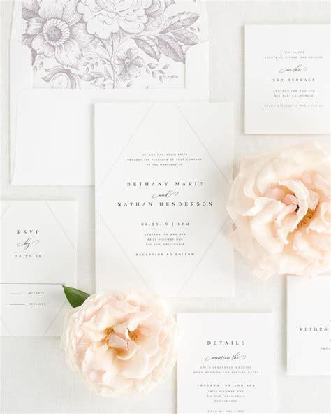 Bethany Wedding Invitations in 2020 Shine wedding