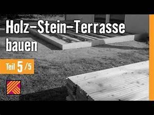 Version 2013 holz stein terrasse bauen kapitel 5 holz for Terrasse stein