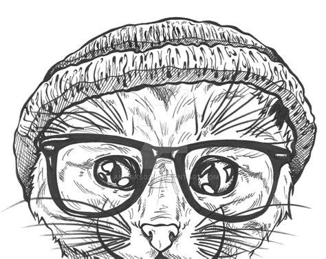 Hipster Cat By Amarks021 On Deviantart