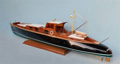 Model Boats Motor Yachts by Model Boats And Model Ships Of True Museum Quality