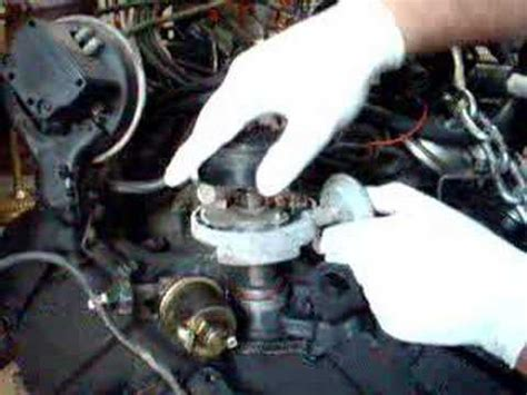 install chevy small block distributor youtube