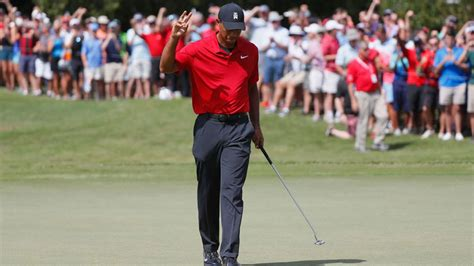 Tiger Woods Wins Tour Championship to Claim First Victory ...