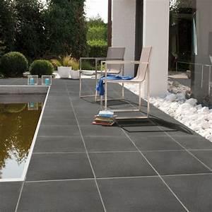 Carrelage Piscine Pas Cher : carrelage terrasse piscine terrasse et piscine avec ~ Premium-room.com Idées de Décoration