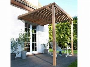 Pergola Bois Leroy Merlin : 20 pergolas pour se prot ger du soleil elle d coration ~ Premium-room.com Idées de Décoration