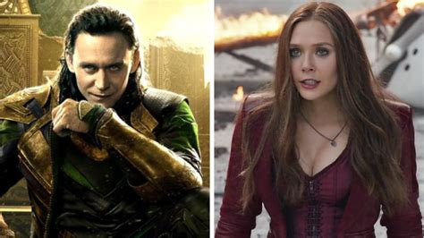 Loki And The Scarlet Witch Are Both Getting Their Own Tv
