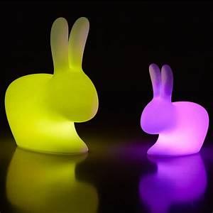 Led Gartenlampen Außenbereich : rabbit lamp outdoor led qeeboo tischlampe in form einer taschenlampe aus polyethylen mit rgb ~ Frokenaadalensverden.com Haus und Dekorationen