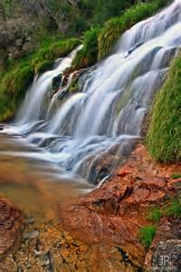 Portugal Mountains Waterfall