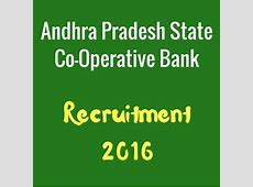 APCOB Recruitment Notification Latest Bank Jobs 201617