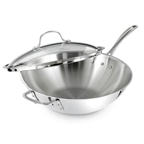 Kitchen Essentials Calphalon Stainless Steel Reviews by 5 Best Wok To Buy For Stir Fry In My Kitchen
