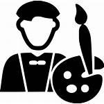 Icon Svg Artist Male Onlinewebfonts Registration Artid