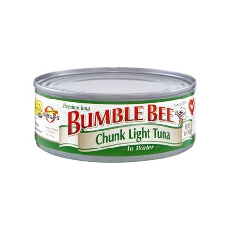 bumble bee chunk light tuna bumble bee chunk light tuna in water can 5 oz