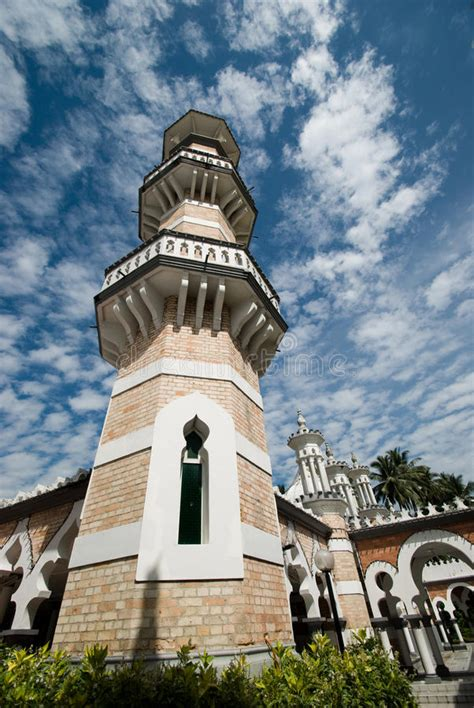 masjid jamek mosque kuala lum stock photo image