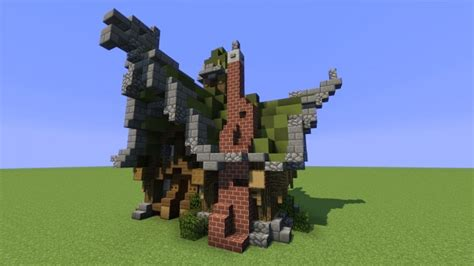 medieval fantasy house  minecraft map