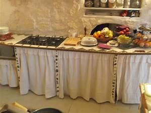 Rideaux De Cuisine : rideaux de meubles de cuisine en toile de lin blanc cortinados pinterest toile de lin ~ Teatrodelosmanantiales.com Idées de Décoration
