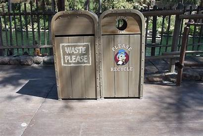 Disneyland Trash Cans Frontierland Familiar Critter Same