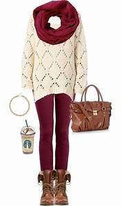 Red Holiday Outfit with Leggings and Combat Boots