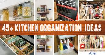kitchen organization ideas 45 small kitchen organization and diy storage ideas diy projects