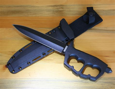 cold steel chaos double edge trench knife ntp