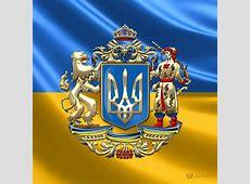Ukraine Proposed Greater Coat Of Arms Over Ukrainian