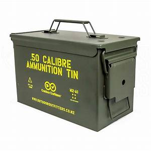 outdoor outfitters 50 cal ammunition tin broncos outdoors